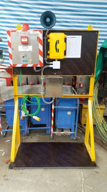 JR101-FK-HB Telefono Metalico Industrial Resistente a la intemperie