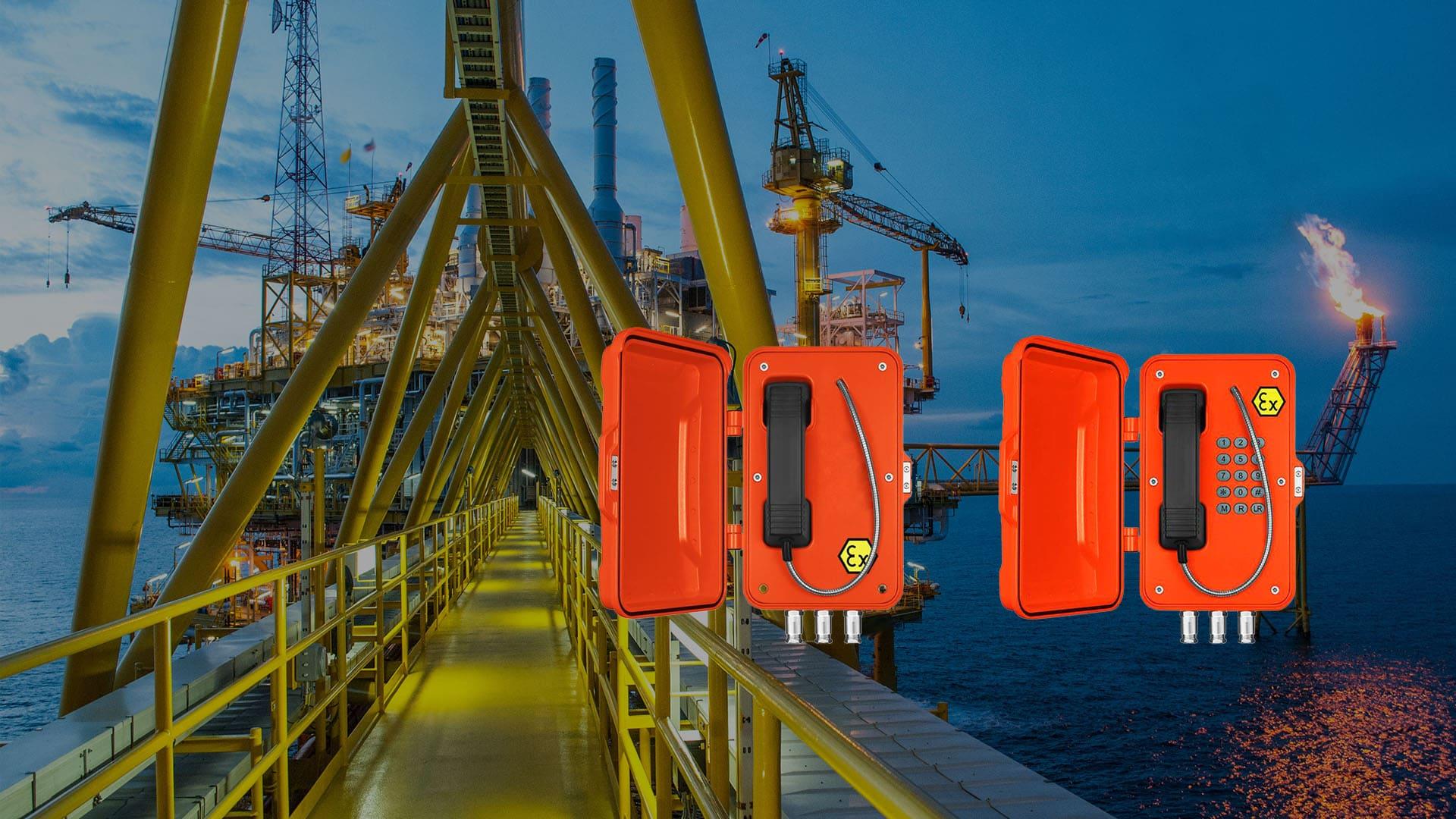 Telefonos Industriales ATEX