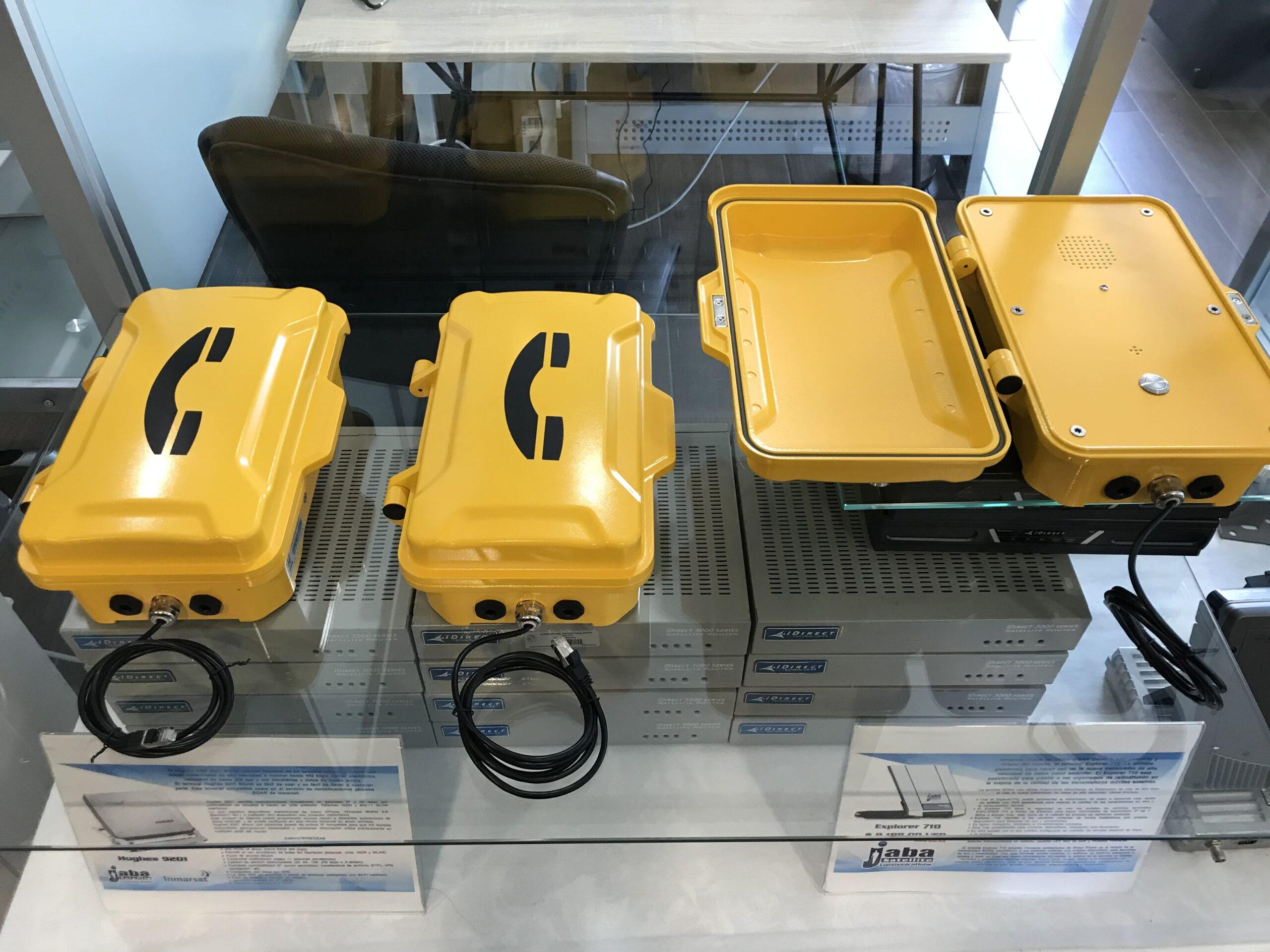 Telefonos Industriales de Emergencia