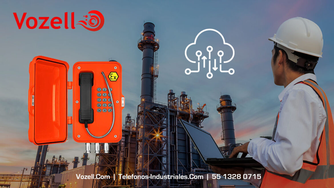 Vozell VoIP Telefonia para areas industriales