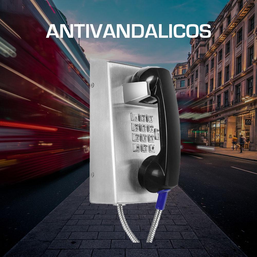 Telefonos Metalicos Antivandalismo